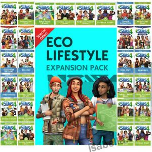 The Sims 4 PC All expansions🔥 eco lifestyle ALL DLC Latest
