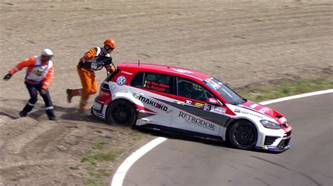 TCR DTM CPZ Highlights Day 2 - YouTube