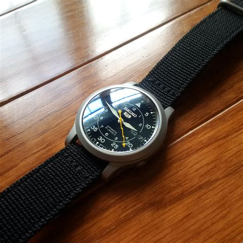 [Seiko] SNK809 Mod - posted in the Watches community