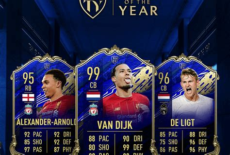 Team of the Year Defenders: FIFA 20 FUT - Operation Sports