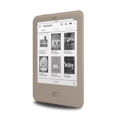 Tolino Page e-Reader will be available this summer