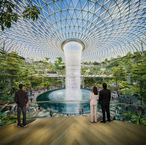 moshe safdie's project jewel airport expansion in singapore