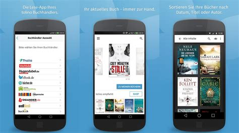 Tolino Unveils New e-Reader App for Android and iOS - Good
