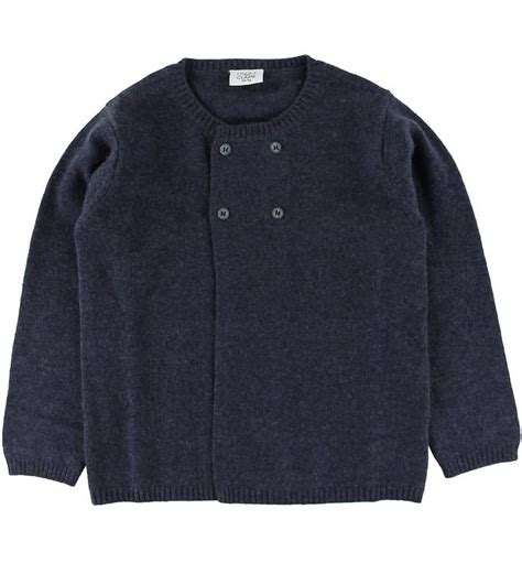 Hust and Claire Cardigan - Wool - Navy | ASAP Shipping