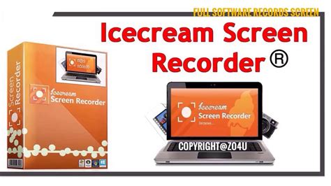 New IceCream Screen Recorder PRO With Crack Patch Full Version