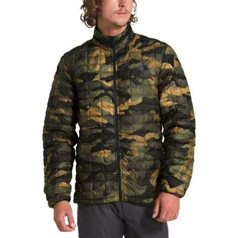 NWT The North Face Men's Slim Fit CAMO Packable ThermoBall