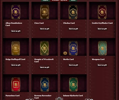 Chocolate Frog Cards - Pottermore Wiki