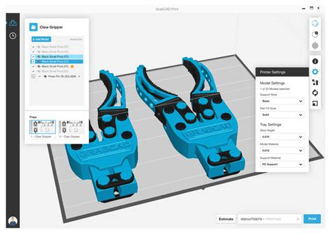 GrabCAD - SYS Systems 3D Printing
