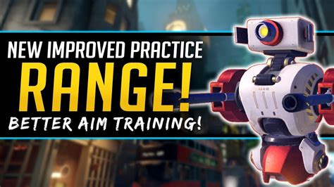 Overwatch NEW Practice Ranges - Better Aim Training and