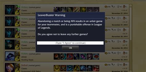 Got leaver-buster for no reason