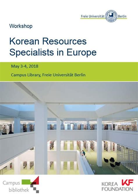 Building a Network of European Korean Resource Specialists