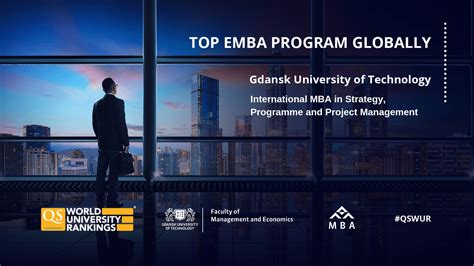 MBA GUT in QS Global EMBA Rankings 2019! | Faculty of