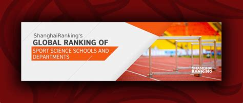 Global ranking of sport science schools and departments